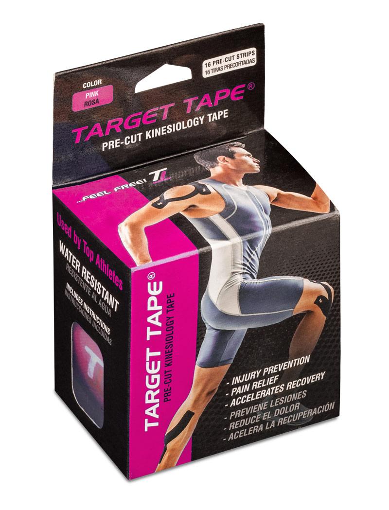 TT TARGET TAPE® precut roll - Pink