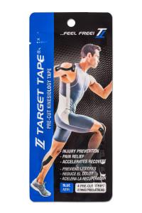 TT Target Tape precut blister pack - Blue