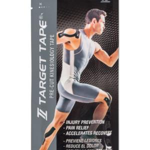 TT Target Tape precut blister pack - Black