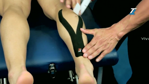 Treating Pulled Calf Muscle: TT Target Tape