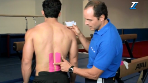 Targeting Lower Back Pain with TT Target Tape