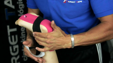 Target Tape Can Help Accelerate Recovery from Plantar Fasciitis